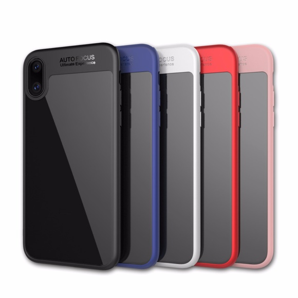 online store aad0a 67c42 IPhone X Auto-focus ShockProof Hybrid Combo Case